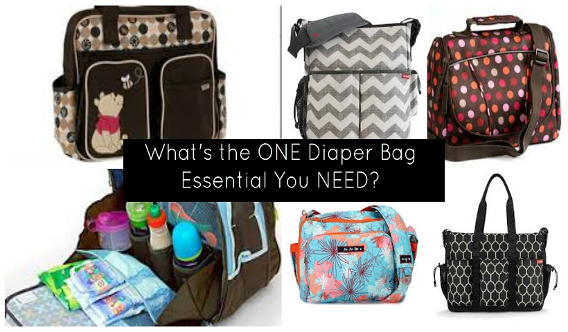What is the ONE Essential Item You Need in Your Diaper Bag?