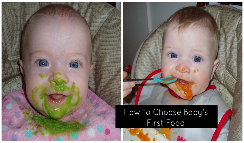 How to Choose Baby's First Food