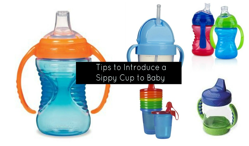 How to Get Your Child To Take A Sippy Cup
