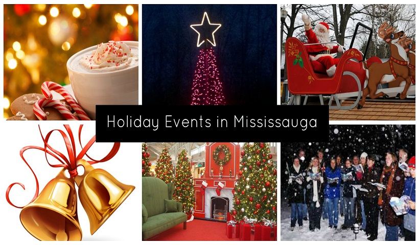 Holiday Events for Mississauga Families Including Photos with Santa