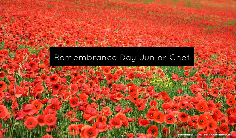 Junior Chef: Remembrance Day Poppies