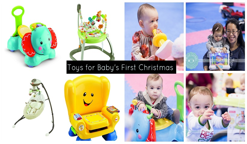 Best Toys For Baby's First Christmas
