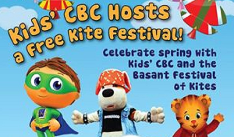 KIDS' CBC HOSTS FREE FAMILY KITE FESTIVAL IN MISSISSAUGA ON MARCH 21